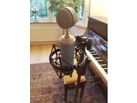 Blue Microphone Blue Bird Cardioid Condenser Mic (Bluebird). Good condition for pro recordings