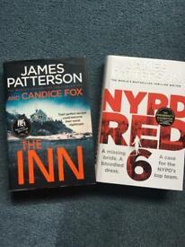 James Patterson Hard Back Books