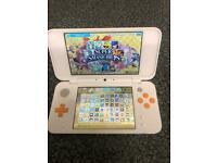 128GB New 2ds xl console with 300 games (excellent condition)