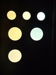 4'' LED Slim Rec( 3 Colors in 1 LED Panel Light, 3 CCT Controllable with Switch), Dimmable 6w=60w cUL- Price Mark Down!!