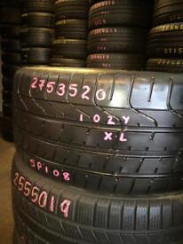 275/35R20 Pirelli P Zero Tyres . Tyre shop . Part Worn & New Tires 275/35/20