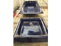 Cast Iron Bath and Cast iron Shower tray.