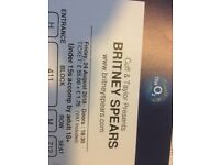 Britney Spears: Piece of Me Tour Ticket