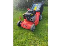 Soveriegn Petrol self propelled lawnmower sharpened lightweight maintenance free poly deck mower