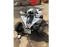 Road legal quad bike with Yamaha fazer engine. LONG MOT