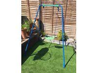 Child's garden swing