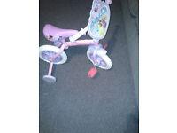 Disney princess 2/1 training bike