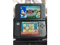 New Nintendo 3DS XL Metallic Black With Zelda