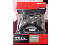 Xbox 360 wireless controller for windows (brand new)