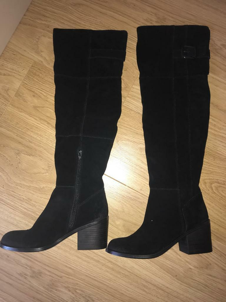 Aldo real suede boots