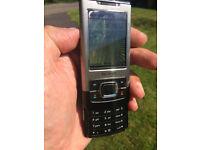 NOKIA 6500s-1 SLIDE PHONE - 3 NETWORK