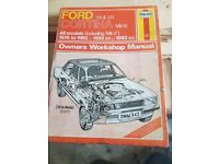Ford Cortina Mk4 Haynes Manual