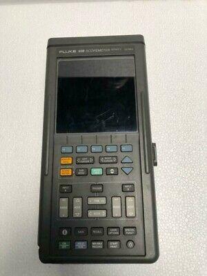 Fluke 99b Industrial Scopemeter Series Ii 100 Mhz For Parts