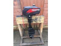 Tohatsu 3.5hp 2-Stroke Long Shaft Outboard Engine