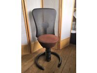 'Swopper' ergonomic office chair (barely used) - good for your back and posture !