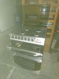 Electric gas free standing cooker belling