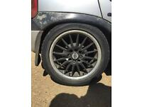"Dynamic 15"" alloys multi fit x4"