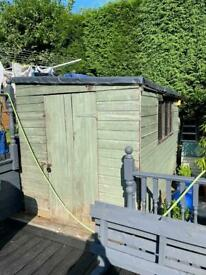 10 x 6 pent shed buyer to collect Upholland