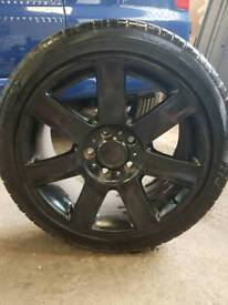 17 inch black alloys came off a VW T5 with tyres