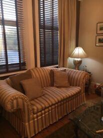 2 custom made sofas.