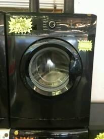 BEKO 6KG 1400 SPIN WASHING MACHINE IN BLACK