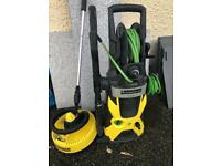 Karcher K5 premium pressure washer with Vaio patio lance