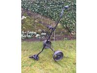Slazenger push/pull golf trolly