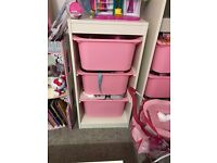 IKEA TROFAST UNIT & BOXES