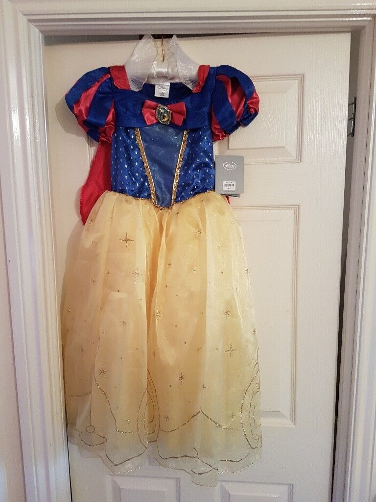 Snow white dress for sale new with tags
