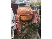 Diesel cement mixer 07939348676