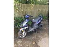2010 Pulse Rythm 50cc Scooter Moped Feb 2018 MoT 30 days warranty