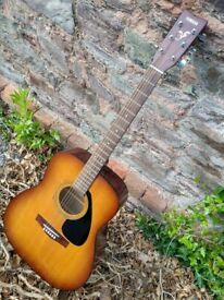 Vintage Yamaha F-310P TBS Dreadnought Acoustic Guitar 1992
