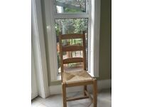 Fired Earth quality Dining Chairs (4)