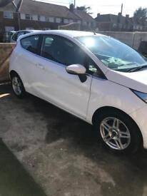 62 plate Ford Fiesta. Low mileage