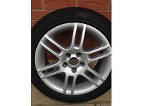 4 x winter tyres n alloy wheels