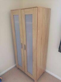 wardrobe oak and beech colour