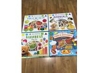 First learning book puzzles