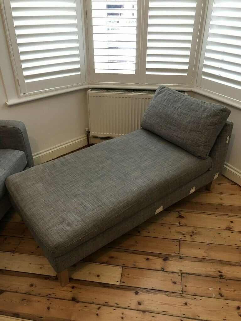 Terrific Ikea Karlstad Chaise Lounge Chair Add On Unit For Corner Sofa In Crystal Palace London Gumtree Cjindustries Chair Design For Home Cjindustriesco