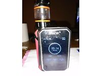Vaporizer G priv 220wct used large smart screen cost £79 new not got box charger with it
