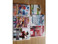 Wii bundle, board and games