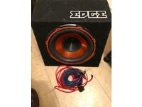 EDGE 900W Car Subwoofer.