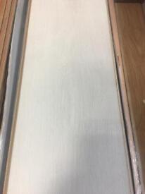 X12 PACKS EVEREST WHITE 8MM V GROOVE LAMINATE FLOORING 24M2 COVERAGE