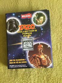 Star Wars Tazo Collectors pack