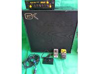 Mark bass 250 + GK MBE 800W, + BASS OVERDRIVE+ BASS BOOSTER
