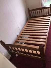 1x Single Bed and 1x Double bed ( With Mattress)