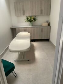 Beauty medical therapy treatment salon rooms to rent Marylebone Central London