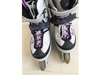 Kids Inline skates and protectors