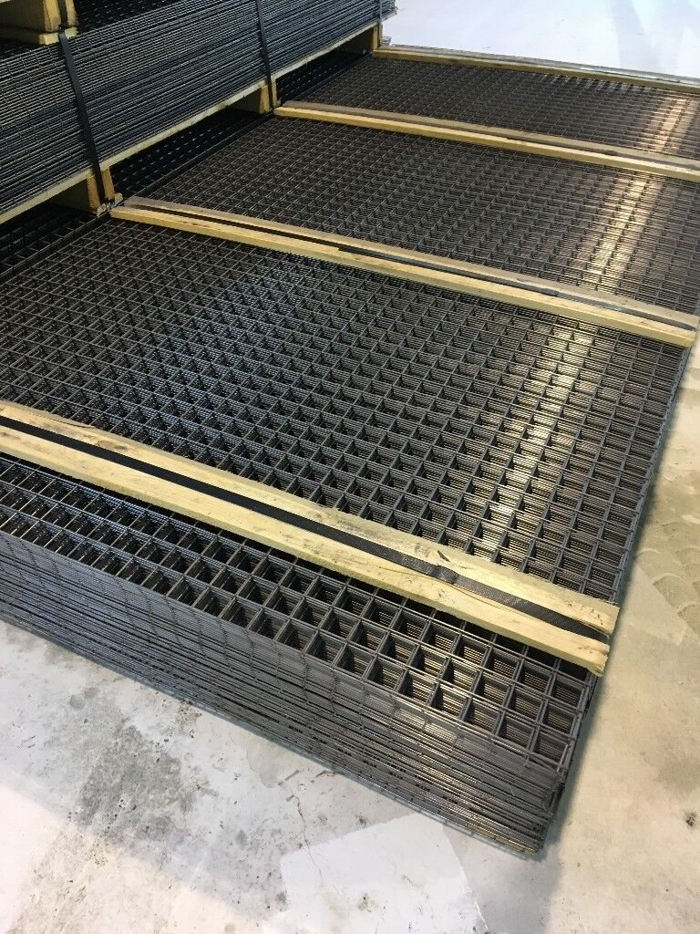 Welded Wire Mesh Panel 2500mm X 1250mm with a 40mm Square | in ...