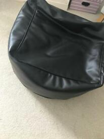 Bean bag - black