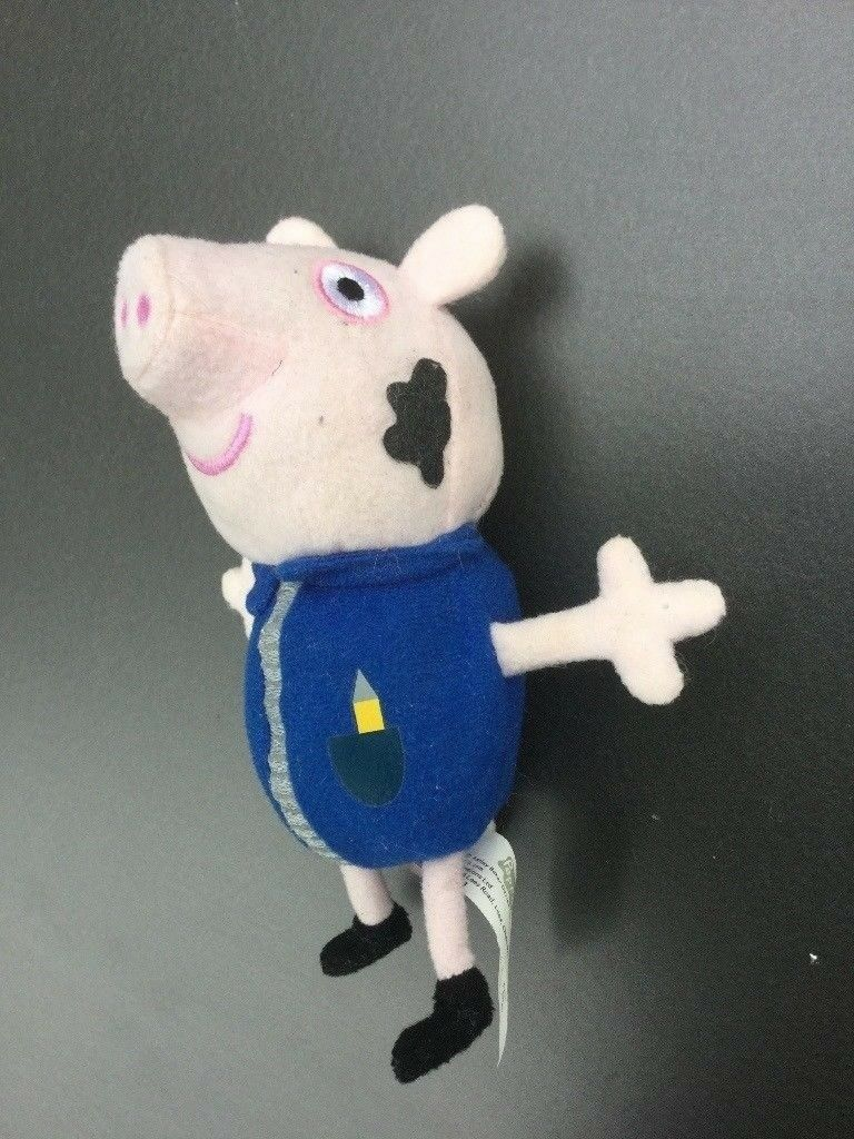 George (from Peppa Pig) cuddly Felt Figure, with sound effect | in Norwich,  Norfolk | Gumtree